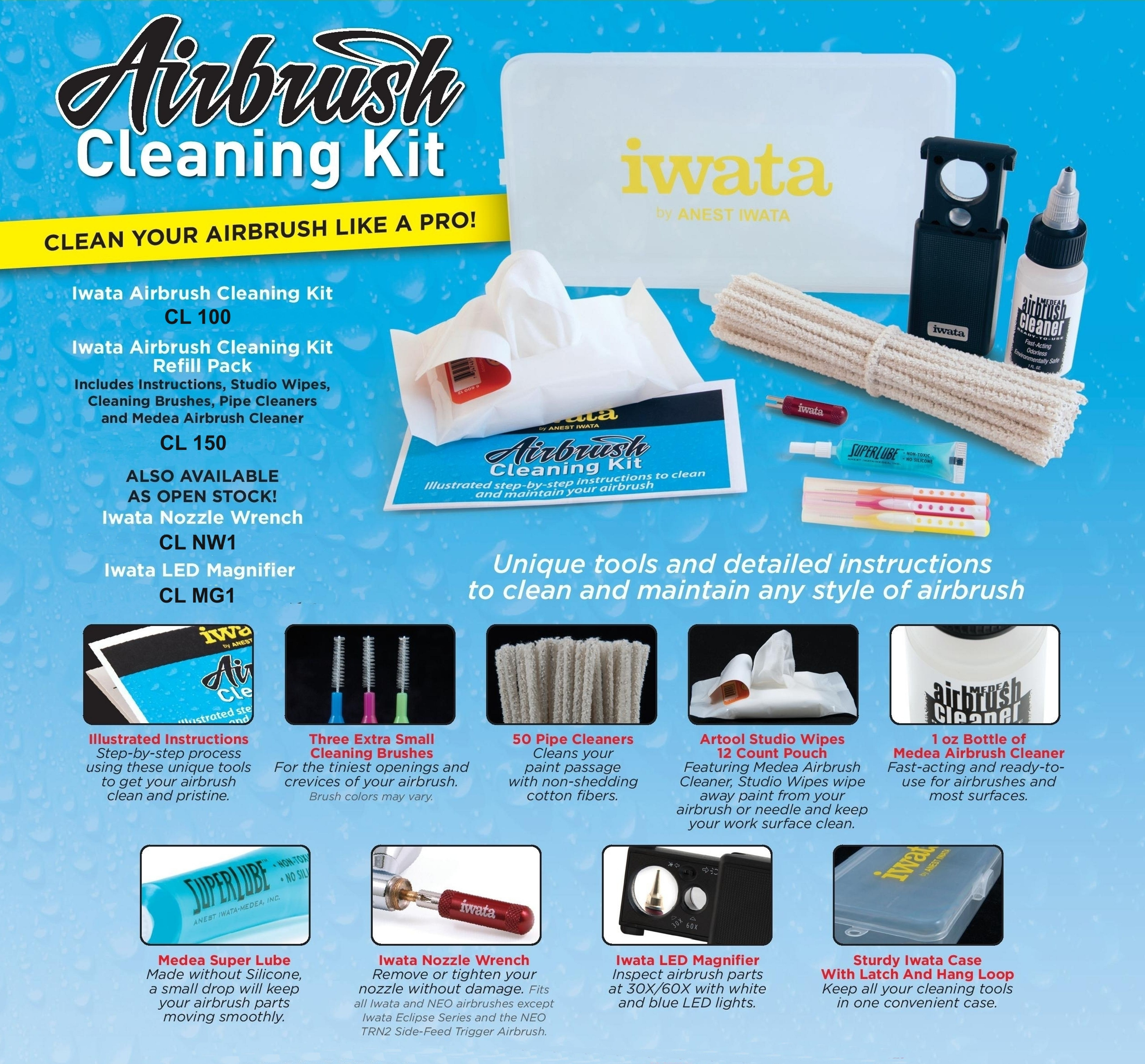 Iwata Cleaning Kit