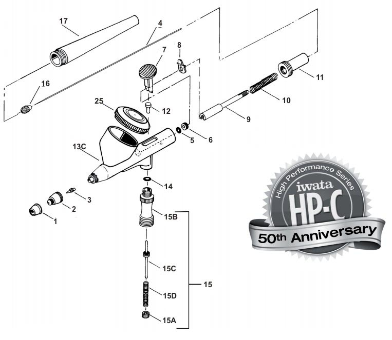 HP-C 50th Anniversay Parts & schematic