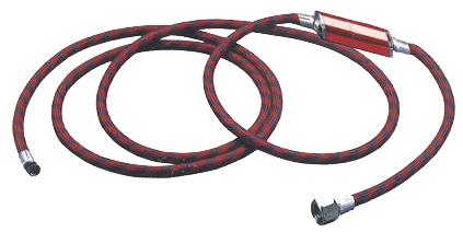A-1/8 Braded Hose with Moisture Trap